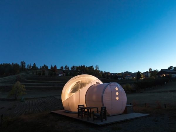 Bulle Camping le Cians