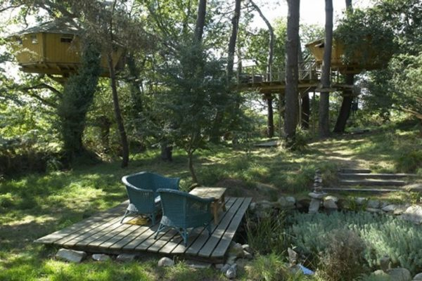 Cabane dans les arbres Bretagne>Morbihan