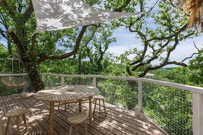 cabane dans les arbres midi-pyrénées (occitanie) - cabane et spa