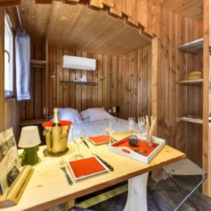 Cabane Lodge Nid d'Amour SPA