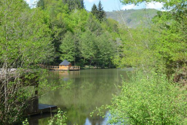 dormir Cabane sur l'eau