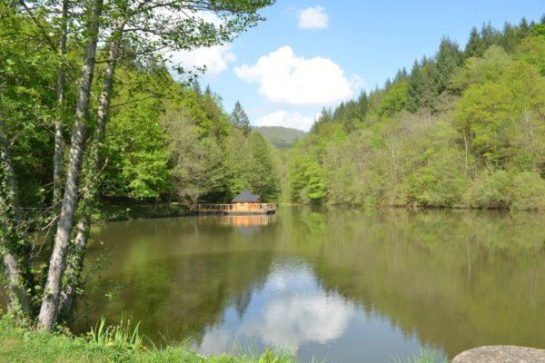nuit insolite Cabane sur l'eau Occitanie>Aveyron