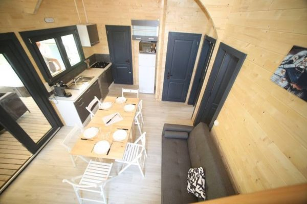 Chalet Eyrieux Camping