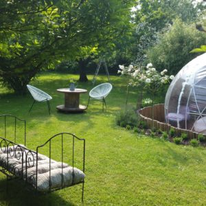 Dôme Bulle Spa igloo
