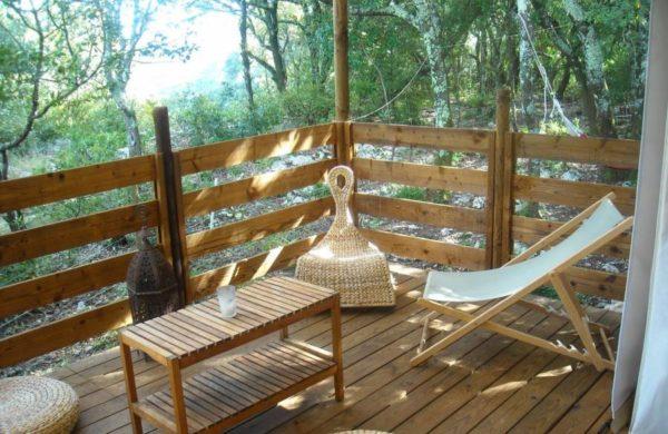 Lodge safari Ardèche