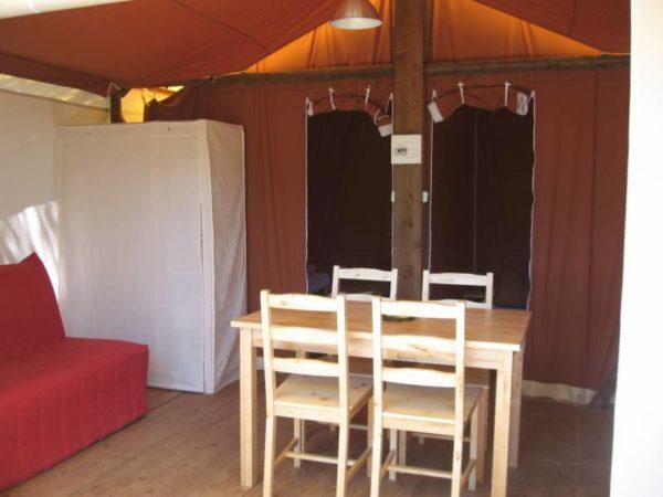 Lodge safari Camping Mille Etoiles