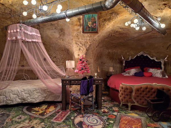 Maison troglodyte Le Loft des gîtes de Pique les Muses